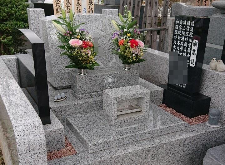 墓碑にリサイクル